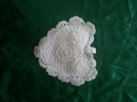Lace Heart Pouch